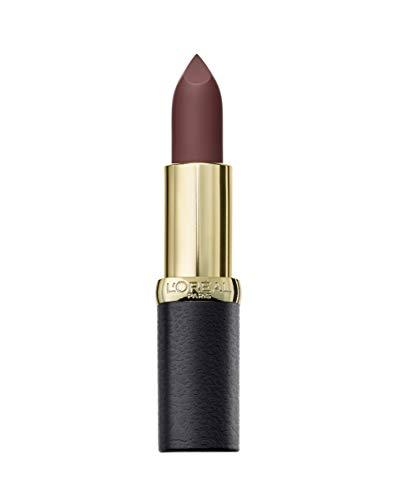 L'Oréal Paris MakeUp Rossetto Color Riche Matte Addiction, Rossetto a Lunga Tenuta, Finish Matte, 654 Bronze Sautoir