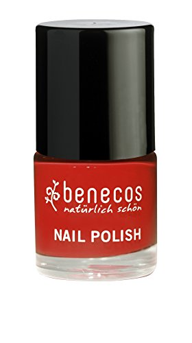 Benecos - Smalto per unghie Red Vintage Benecos, 9 ml