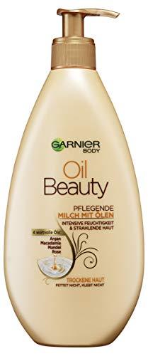 Garnier Latte Nutriente per Il Corpo Oil Beauty, 1 Pezzo (1x400 ml) [Versione tedesca]