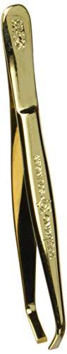 Pfeilring pinzette per le sopracciglia, 9cm, placcate oro