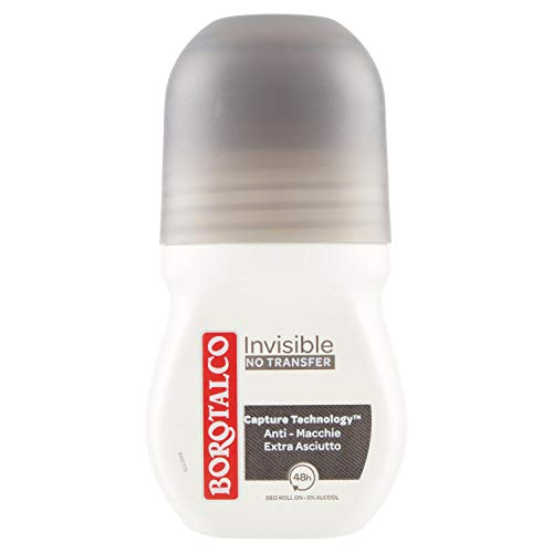 Borotalco Deodorante Roll On invisible, 50ml