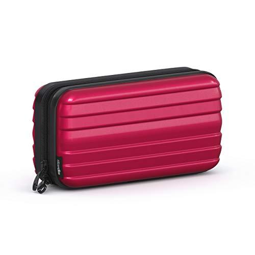Stardis - Beauty case rigido, colore: Rosso carminio