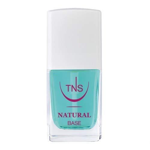 TNS Cosmetics - Natural Base - Base smalto rinforzante e protettiva, previene lo sfaldamento e la rottura dell'unghia - 10 ml