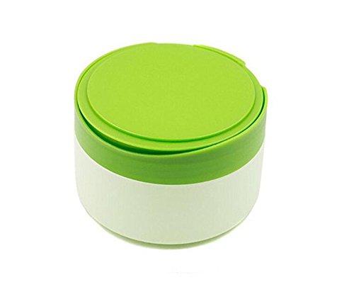 Contenitore in polvere di talco, portatile, vuoto, per la cura della pelle del bambino, con contenitore in polvere, contenitore per il trucco, contenitore da viaggio con cipria