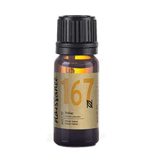 Naissance Olio di Vetiver – Olio essenziale puro al 100%, Vegano, senza OGM - 10ml