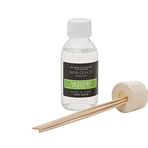 Profumatore Maghy per ambienti, da 125 ml, muschio Fresco Muschio Fresco