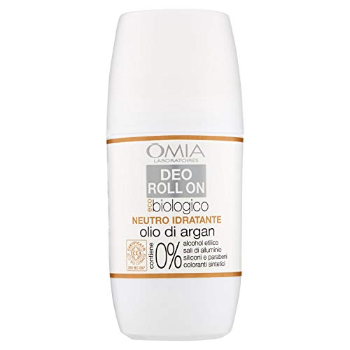 Omia Laboratoires Deo Roll On con Olio di Argan, 50ml