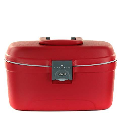 RONCATO Light beauty case rigido con combinazione e organizer Rosso