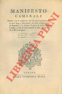 Lo smaltimento del sale non si pratichera' piu' in alcun luogo a Kilogrammi, ma bensì ovunque in peso di Piemonte.