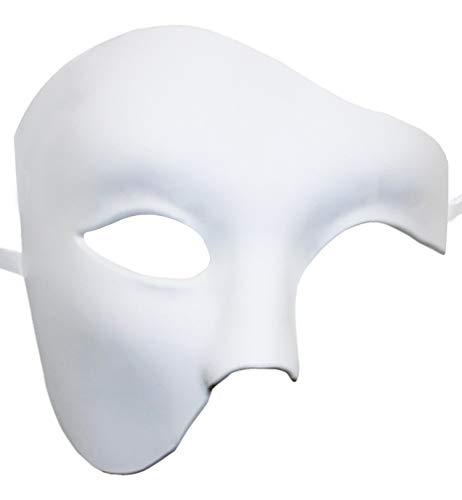 KEFAN Maschera Maschera Maschera Maschera Fantasma Maschera Maschera Opera (Bianco) (Bianco)