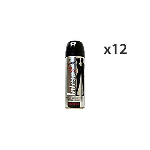 INTESA Set 12 Deodorante Spray Unisex Sexattraction 125 Ml. Cura Del Corpo