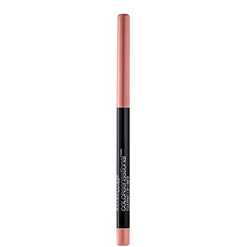 Maybelline New York Color Sensational Shaping Lip Liner Matita Labbra, Effetto Volumizzante, 20 Nude Seduction