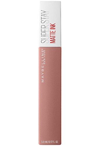 Maybelline New York Tinta Labbra SuperStay Matte Ink, Rossetto Matte Liquido a Lunga Tenuta, Poet (60), 5 ml