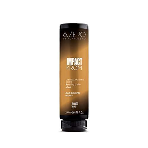 6.Zero Impact Krom Maschera Ravvivante Colore 200ml (Biondo)