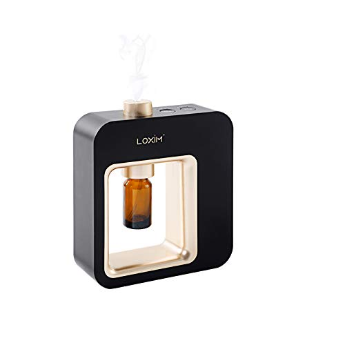 Diffusore di aromaterapia Diffusori di oli essenziali professionali, tecnologia di atomizzazione, nero (Black)