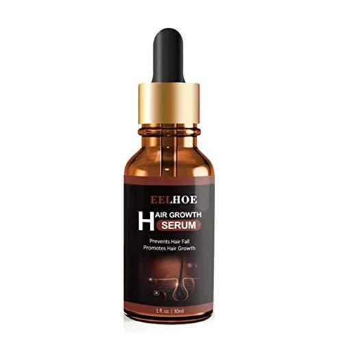 aniceday 30ML Olio Essenziale per Capelli Olio per La Crescita dei Capelli Siero Riparatore per Capelli Crespi Danneggiati