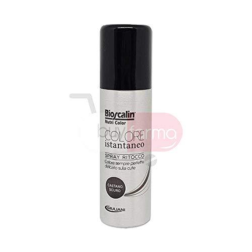 BIOSCALIN NUTRI COLOR - Spray Ritocco Colore Istantaneo da 75ml - CASTANO SCURO