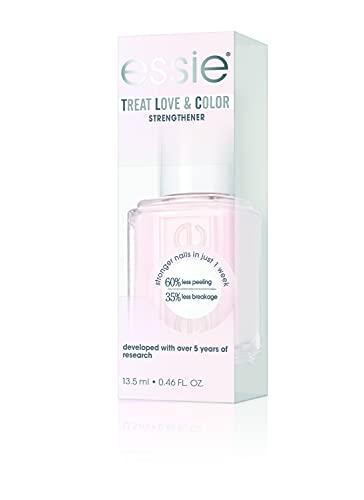 Essie Smalto Semipermanente Rinforzante Treat, Love & Color, Trattamento Cura e Colore, Sheers To You, 13,5 ml