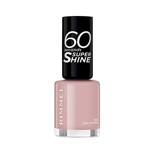 Rimmel 60 Seconds Super-Shine, Smalto Per Unghie, Sea Nymph - 20 Gr
