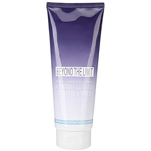 【𝐏𝐫𝐨𝐦𝐨𝒛𝐢𝐨𝐧𝐞 𝐝𝐢 𝐏𝐚𝐬𝐪𝐮𝐚】Shampoo decolorante per capelli, Shampoo decolorante per capelli inodore, Crema decolorante per capelli delicata senza stimolazione Parrucchiere per barbiere a