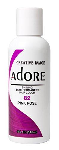 Adore, Tinta per capelli semi-permanente brillante, colore: 82 rosa