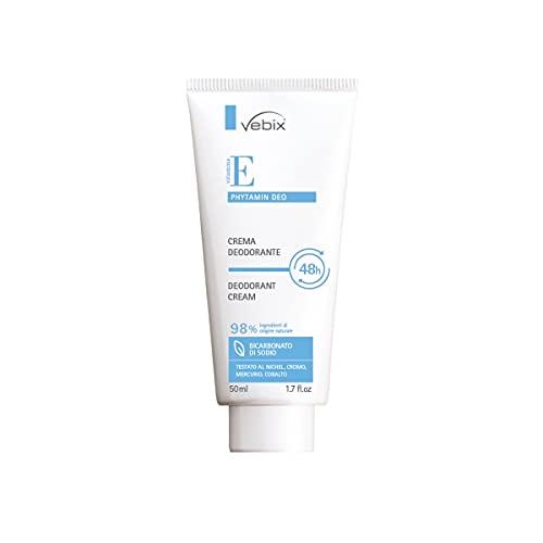 Vebix crema deodorante con Vitamina E 48h