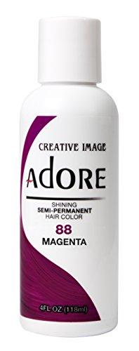 Adore Shining semi-permanente colore dei capelli, 88magenta