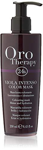 Fanola Oro Therapy Color Mask Viola Intenso Maschera Capelli - 250 Ml