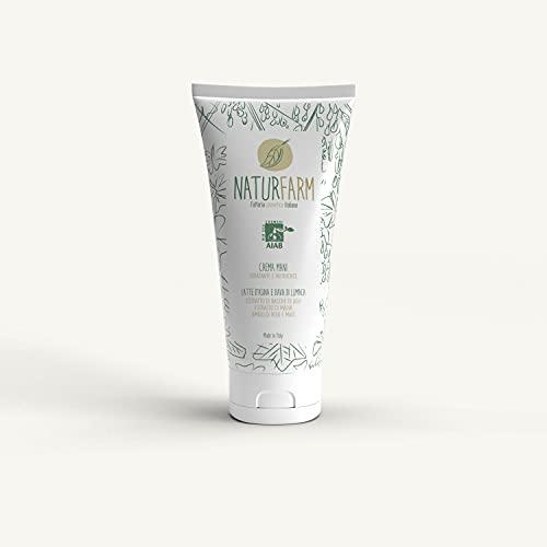 Naturfarm Crema Mani Bava di Lumaca e Latte d'Asina, Estratto di Bacche di Goji e di Malva, Biologica 100 ml