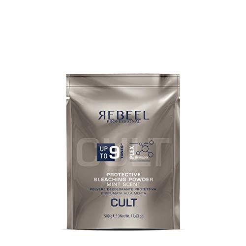 Rebeel Decolorante in Polvere Professionale Protettivo Plex fino a 9 Toni da 500g