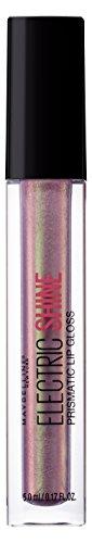 Maybelline New York Electric Shine Lucidalabbra N. 155Moonlit Metal, 5ML