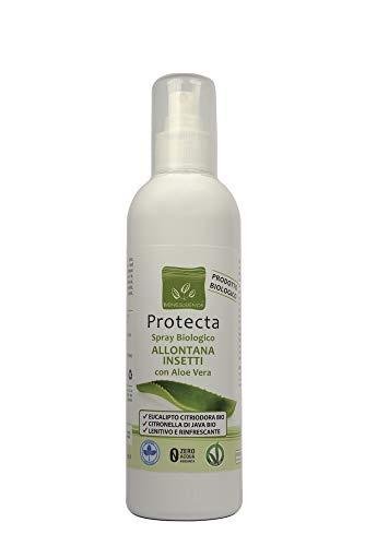 Benessence - Spray biologico Allontana Insetti e Zanzare con Aloe Vera - lenitivo da 250 ml