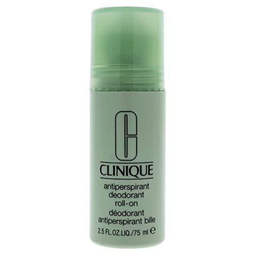 Clinique Deodorante Antitraspirante Roll On, Cura del Corpo e Bellezza - 75 ml
