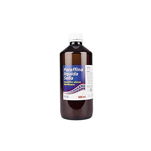 Sella Paraffina Liquida Olio di Vaselina Lassativo, Multicolore, 500 Millilitri