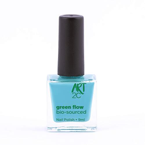 Art 2C, smalto per unghie vegan e bio 85% brevettato, ultra-puro, 24 colori, 9 ml, colore: Arctic 33