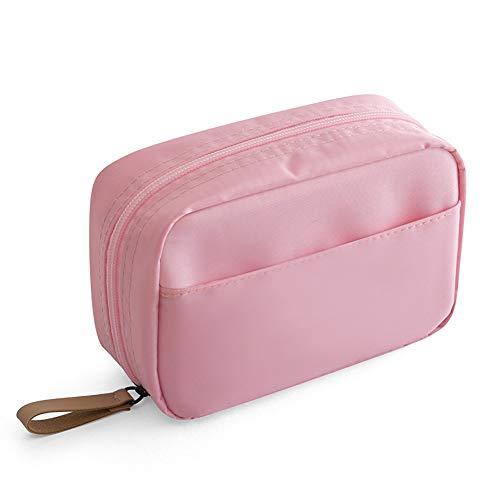 YMG Fenicottero Borsa Cosmetica, Donne Viaggio Necessaire Organizer Borsa Impermeabile Portatile Articoli da Toilette Astuccio,Rosa,17x11x6cm