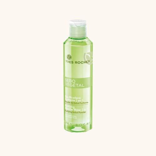 Yves ROCHER SEBO 2 in 1 purificante acqua micellare. 200 ml.