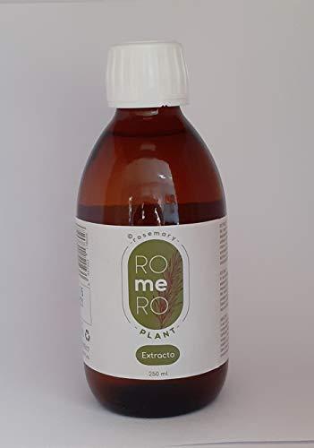 rosemary ROmeRO plant. Estratto di Rosmarino 250 ml Corregge la pelle flaccida, antinfiammatorio.