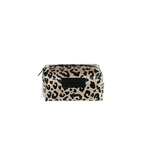 Necessaire M Beauty Glitter Leopardato, Leo, Camomilla