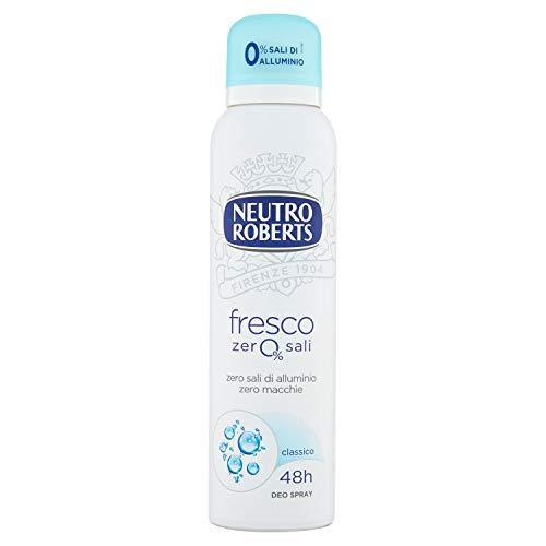 NEUTRO ROBERTS Deodorante Fresco, Spray, 150ml