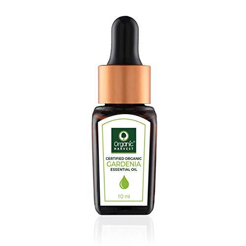 Gardenia Essential Oil By Organic Harvest   Skin Care Essential Oils Gardenia   Organic Gardenia Essential Oil   Usda Certified Essential Oil   Gardenia Oil for Aromatherapy - 10 Ml