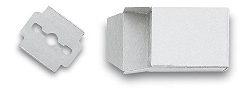 3 Claveles 12370 - Lamette tagliacalli, confezione da 10 unità