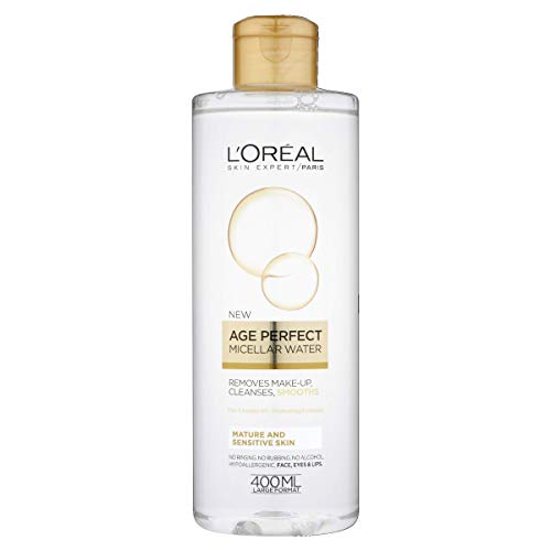 L'Oreal Paris (versione inglese), Skin Expert, acqua micellare Age Perfect, 400ml