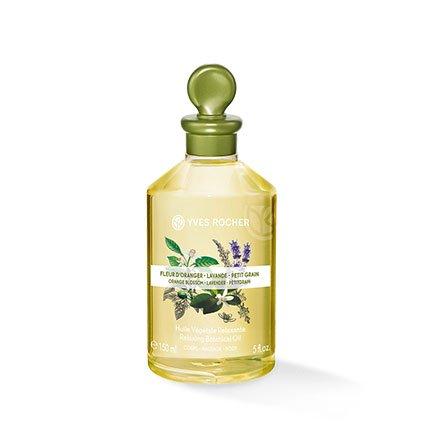 Yves Rocher–vegetale del corpo e olio da massaggio–Fiori d' arancio, Lavanda et Petitgrain
