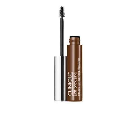 Clinique Just Browsing Brush-on Styling Mousse - 24-hour Long-wearing Brow Mousse Tints, 0.07 Oz (Deep Brown) by Illuminations
