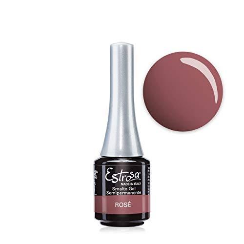 Estrosa 7483 Gel Polish Rosé Smalto Gel Semipermanente 7 ml + Omaggio semipermanente 10 ml
