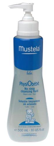 Mustela - Latte Detergente Fluido Senza Risciacquo Per Il Viso E Il Cambio Pannolino Physiobebe 300 Ml