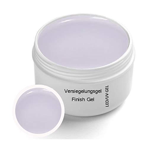 Finish Classic Gel trasparente UV 30 ml - Finitura gel UV con protezione giallastra - Strato di finitura - Forma unghie