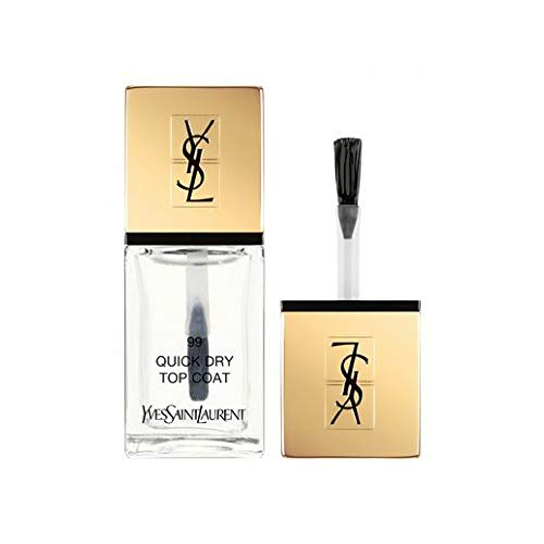 Yves Saint Laurent la Laque Couture Smalto Unghie, 99 Top Coat Aciugatura Veloce, 10 ml
