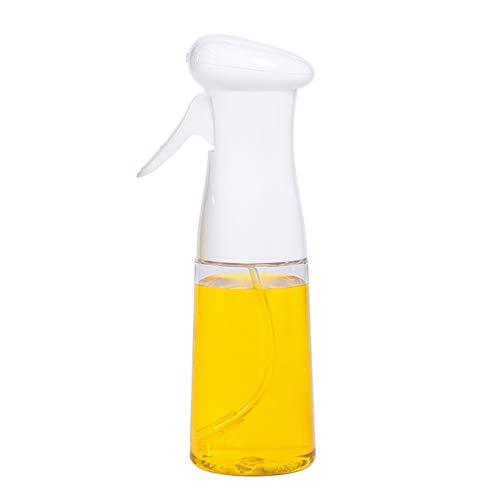 Nebulizzatore Olio Sprayer Aceto Oilo Sprayer Oliera Spray Dispenser Spruzzatore di Olio/Aceto Portatile Prova di Perdite Spruzzatore Olio Professionale per Cucinare,Pasta,Insalata,Barbecue Bianco